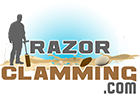 Razor Clamming Logo